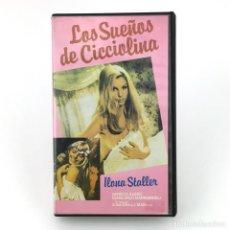 Peliculas: LOS SUEÑOS DE CICCIOLINA. ILONA STALLER PATRIZIA BASSO PAOLA LUDOVICA BARBANERA CAPECCHI MATTEI VHS. Lote 219566926