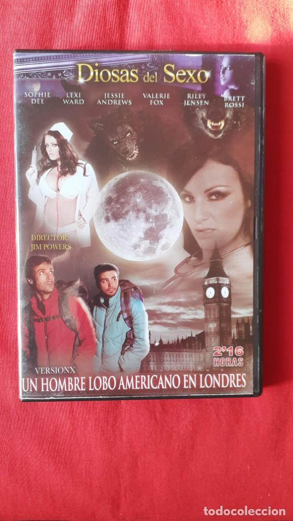 UN HOMBRE LOBO AMERICANO EN LONDRES VERSION X. JIM POWERS. IFG-DIOSAS DEL SEXO (Coleccionismo para Adultos - Películas)