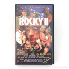 Peliculas: ROCKY II EL REGRESO ROCCO SIFFREDI ROSA CARACCIOLO MISSY LEXI LEIGH ALEXANDRA SILK SEAN MICHAELS VHS. Lote 219727247
