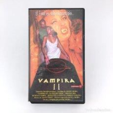 Peliculas: VAMPIRA 2 NACHO VIDAL RENATA REY JEANNETTE LA DOUCE TAVALIA GRIFFIN NOMI ALESSIA GUALDI MAYTE P. VHS. Lote 220303755