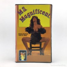 Peliculas: MS MAGNIFICENT / SUPERWOMAN JESIE ST. JAMES SHARON KANE STARR WOOD DESIREE COUSTEAU HOLLY MCCALL VHS. Lote 220304696