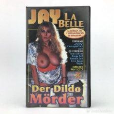 Peliculas: DER DILDO MORDER JAY LA BELLE LANA TANJA LEBRUY BUGGY BALL BARBARA DOLL ERICA BRAUN VITALIS PORN VHS. Lote 220439000