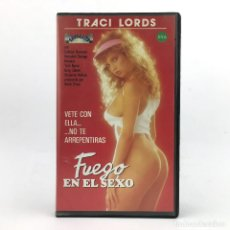 Peliculas: FUEGO EN EL SEXO TRACI LORDS COUNTRY GIRL 1985 COLLEEN BRENNAN KRISTARA BARRINGTON JESSICA WYLDE VHS. Lote 231287215