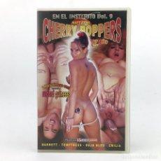 Peliculas: CHERRY POPPERS EN EL INSTITUTO 9 CRASH COURSE BARRET TEMPTRESS DEJA BLEU EMILIA - MATT ZANE 1990 VHS. Lote 221578703