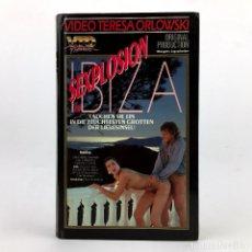 Peliculas: SEXPLOSION IN IBIZA. NATHALIE CAYNE FELICE DESMOINES MARIE NOELLY SHEILA PRINCESS ROCCO SIFFREDI VHS. Lote 221692755