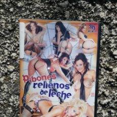 Peliculas: PIBONES RELLENOS DE LECHE - PELICULA PARA ADULTOS - DVD. Lote 222125836