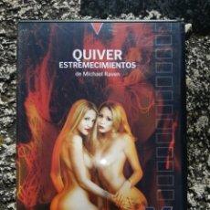 Peliculas: QUIVER ESTREMECIMIENTOS - PELICULA PARA ADULTOS - DVD. Lote 222125898