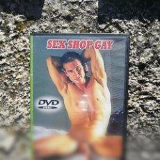 Peliculas: SEX SHOP GAY - PELICULA PARA ADULTOS - DVD. Lote 222126733