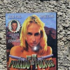 Peliculas: POR UN PUÑADO DE POLVOS - PELICULA PARA ADULTOS - DVD. Lote 222126776