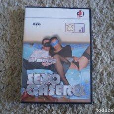 Peliculas: DVD PORNO. SEXO CASERO. ORIGINAL. PERFECTO VISIONADO.. Lote 269358813