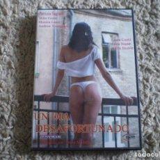 Peliculas: DVD PORNO. UN DIA DESAFORTUNADO. ORIGINAL. PERFECTO VISIONADO.. Lote 269358873