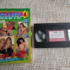 Peliculas: VHS, EAST COAST SLUTS 4 -EROTISMO VINTAGE. Lote 228051115