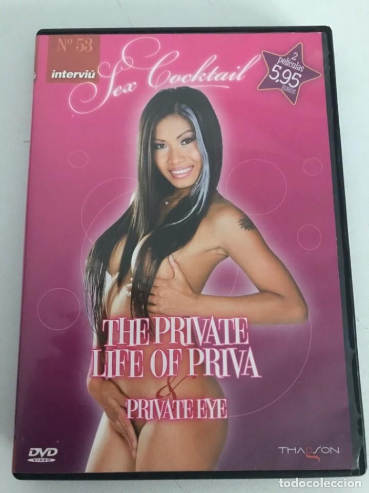 SEX COCKTAIL N 53 INTERVIU( THE PRIVATE LIFE OF PRIVA/PRIVATE EYE)DVD (Coleccionismo para Adultos - Películas)