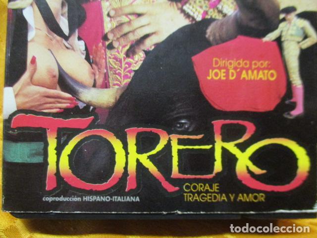 Peliculas: VHS EROTICO / TORERO / ROCCO SIFFREDI / SUNSET. - Foto 2 - 228775780