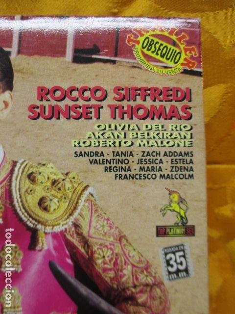 Peliculas: VHS EROTICO / TORERO / ROCCO SIFFREDI / SUNSET. - Foto 3 - 228775780