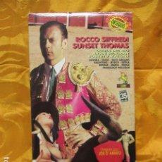 Peliculas: VHS EROTICO / TORERO / ROCCO SIFFREDI / SUNSET.. Lote 228775780
