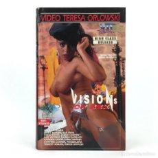 Peliculas: VISIONS OF SEX ELA STAR DORIS HAYES ILLONA CAPRIATI CARMEN CASTELLANO MOANA CYNTHIA LARKIN VTO X VHS. Lote 231287750