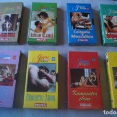 Peliculas: 8 PELICULAS VHS DE CINE EROTICO. Lote 234639105