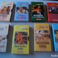 Peliculas: 8 PELICULAS VHS DE CINE EROTICO. Lote 234639475