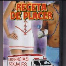 Peliculas: DVD CAJA Y PORTADA SIN DVD RECETA DE PLACER. Lote 235089425