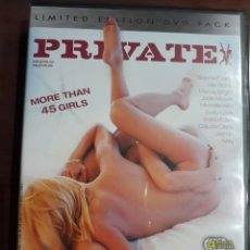 Peliculas: PRIVATE DVD SPECIAL COMPILATION THE LESBIAN COLLECTION. Lote 235193250