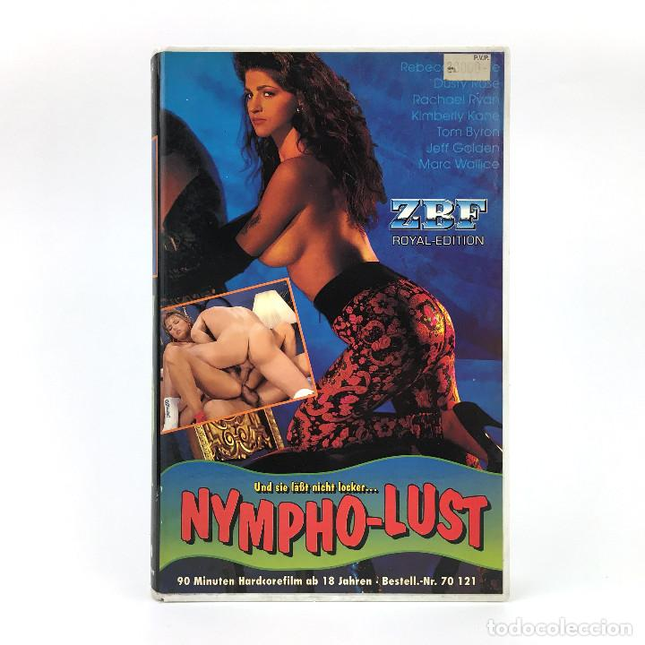 NYMPHO LUST. BACKDOOR TO HOLLYWOOD 11 REBECCA STEELE DUSTY RACHEL RYAN KIMBERLY KANE TOM BYRON X VHS (Coleccionismo para Adultos - Películas)