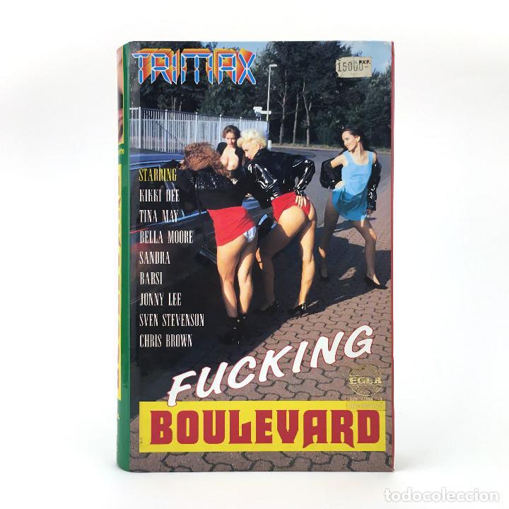 FUCKING BOULEVARD. KIKKI DEE TINA MAY BELLA MOORE SANDRA BABSI JONNY LEE SVEN STEVENSON X TRIMAX VHS (Coleccionismo para Adultos - Películas)