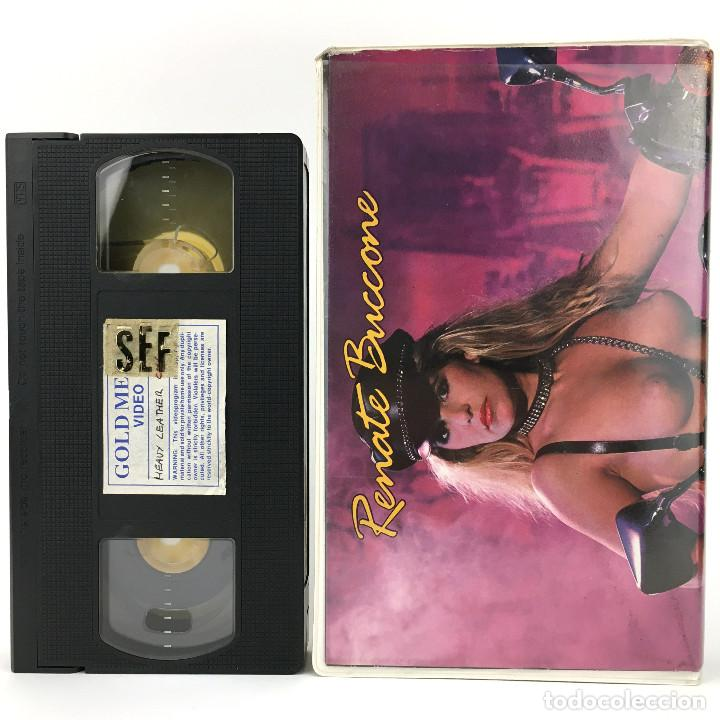 Peliculas: HEAVY LEATHER COLLECTION RENATE BUCCONE CATALOGO LENCERIA LATEX CUERO BDSM XXX VINTAGE REVISTA + VHS - Foto 2 - 235407815
