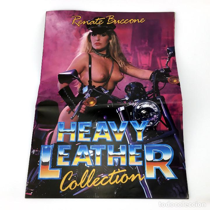 Peliculas: HEAVY LEATHER COLLECTION RENATE BUCCONE CATALOGO LENCERIA LATEX CUERO BDSM XXX VINTAGE REVISTA + VHS - Foto 3 - 235407815