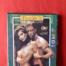 Peliculas: DVD TARZAN X. JOE D'AMATO ROCCO SIFFREDI ROSA CARACCIOLO NIKITA GROSS (PRECINTADO) DIFÍCIL. Lote 236961005
