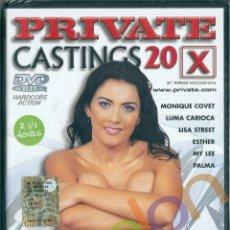Peliculas: PRIVATE CASTINGS 20 / HENRIETTE MONIQUE COVET LUMA CARIOCA LISA ESTHER ORCHIDEA X PIERRE WOODMAN DVD. Lote 239823985