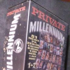 Film: 2 VHS-PRIVATE MILLENNIUM-51 PRIVATE GIRLS. Lote 240142655