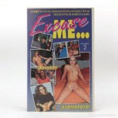 Peliculas: EXCUSE ME 2 HARRY EL SALIDO CHICAS JOVENES SUECAS DANESAS HOLANDESAS X SEDUCCION PORNO SEVENTEEN VHS. Lote 240618860