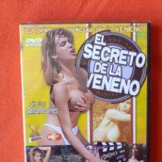 Peliculas: EL SECRETO DE LA VENENO. LA PRIMERA PELICULA DE LA VENENO. ANTON FRAMES. X CANAL DVD (PRECINTADA). Lote 241447250