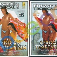 Peliculas: PRIVATE TROPICAL 28 AFRICAN TEMPTATION JUSTINE ASHLEY KATY CARO DIANA GOLD SIMONE STYLE VIRGINE DVD. Lote 241729420