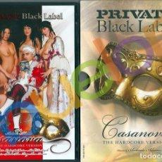 Peliculas: PRIVATE CASANOVA HARDCORE VERSION. ANASTASIA CHRIST LYDIA ST MARTIN NATALLI DIANGELO SARAH TWAIN DVD. Lote 241760425