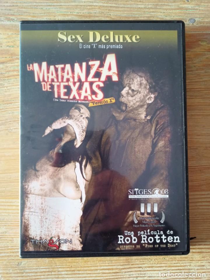 PELÍCULA DVD PARA ADULTOS, LA MATANZA DE TEXAS (Coleccionismo para Adultos - Películas)