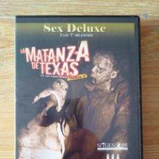 Peliculas: PELÍCULA DVD PARA ADULTOS, LA MATANZA DE TEXAS. Lote 241808360