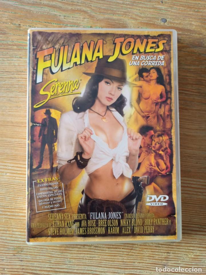 PELÍCULA DVD PARA ADULTOS, FULANA JONES (Coleccionismo para Adultos - Películas)