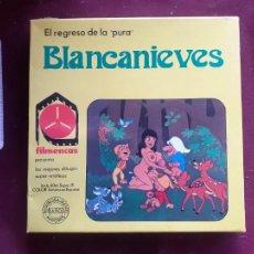 Peliculas: BLANCANIEVES. EL REGRESO DE LA PURA - PELÍCULA SUPER 8 - FILMENCAS - DIBUJOS SUPER EROTICOS. Lote 243618565