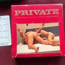 Peliculas: PRIVATE. PELICULA EROTICA, AÑOS 70, SUPER 8. Lote 243620875