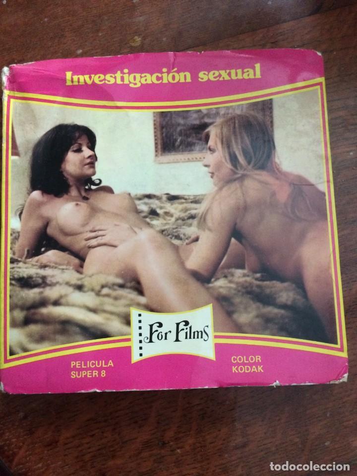 CINE ADULTOS Nº19 SUPER 8 COLOR KODAK INVESTIGACIÓN SEXUAL FOR FILMS BOBINA DE 60 METROS SONORO ESPA (Coleccionismo para Adultos - Películas)