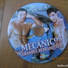 Peliculas: MECANICOS GRANDES HERRAMIENTAS , VERSION X PELICULA PORNO DVD GAY. Lote 245304220