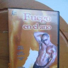 Peliculas: FUEGO EN EL ANO , VERSION X PELICULA PORNO DVD GAY. Lote 245305650