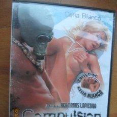 Peliculas: COMPULSION UN FILM DE HNOS LAPIEDRA - CELIA BLANCO VERSION X PELICULA PORNO DVD SOLO ADULTOS. Lote 245306085