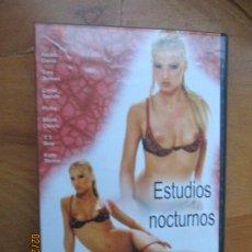 Peliculas: ESTUDIOS NOCTURNOS , VERSION X PELICULA PORNO DVD SOLO ADULTOS. Lote 245306240
