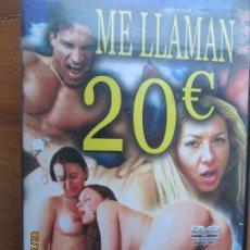 Peliculas: ME LLAMAN 20 EUROS - VERSION X PELICULA PORNO DVD SOLO ADULTOS. Lote 245306795