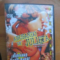 Peliculas: ABUSANDO DE JULIETA - HOT MILK - BUKKAKE - VERSION X PELICULA PORNO DVD SOLO ADULTOS. Lote 245307415