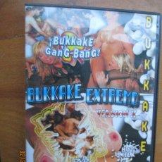 Peliculas: BUKKAKE EXTREMO - HOT MILK - VERSION X PELICULA PORNO DVD SOLO ADULTOS. Lote 245307960