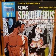 Peliculas: COMIC EROTICO SOR CLITORIS....Nº 1 .. Lote 245419625